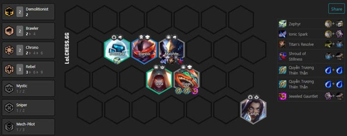 Đấu Trường Chân Lý: Những đội hình snowball kinh hoàng nhất phiên bản 10.10