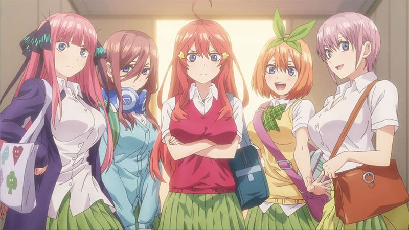 Gotoubun No Hanayome Season 2 bị hoãn chiếu đến tháng 1/2021