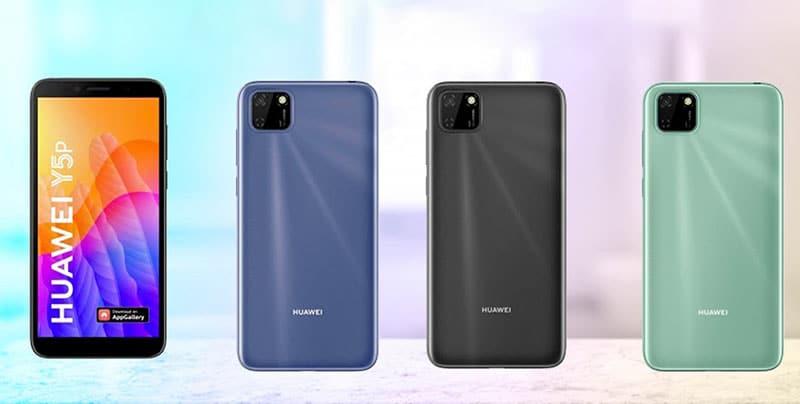 Chiêm ngưỡng những hình ảnh mới nhất của Huawei Y5P và Y6P