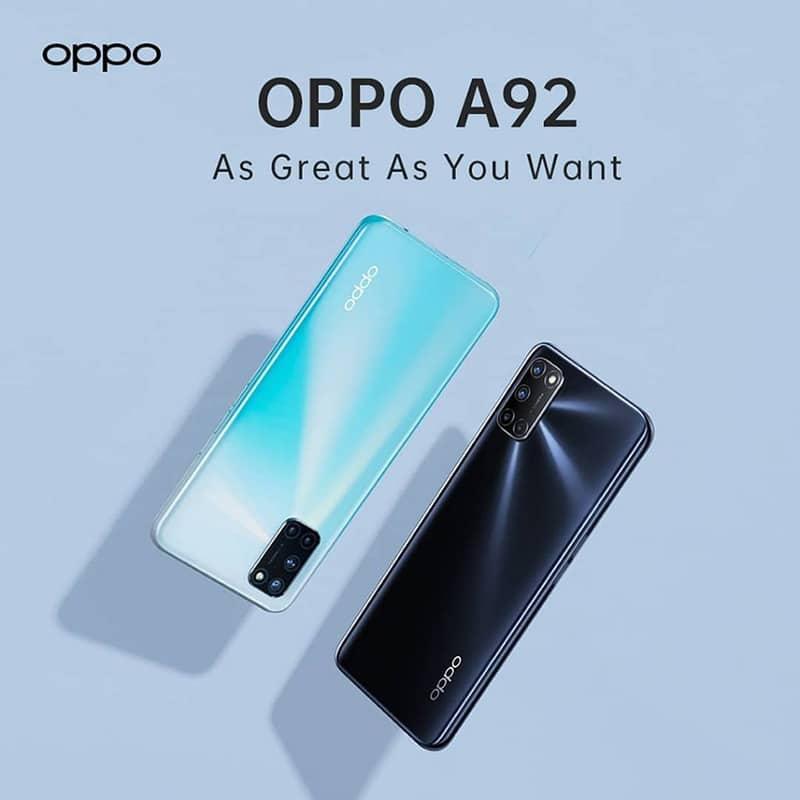 Không còn chỉ là thông tin rò rỉ, OPPO A92 chính thức ra mắt