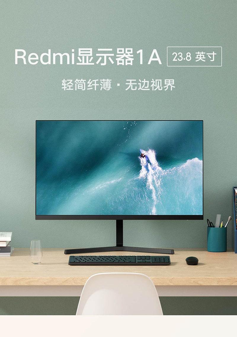 Chỉ với 1.6 triệu đồng, bạn đã có thể sở hữu màn hình Redmi FullHD+