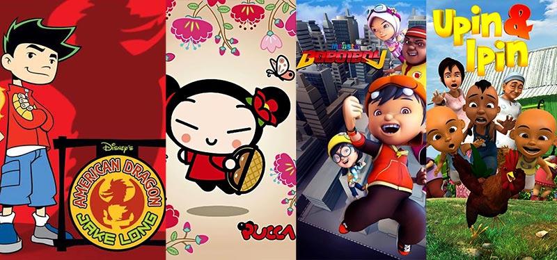 Top 5 series phim hoạt hình mang màu sắc châu Á ấn tượng nhất