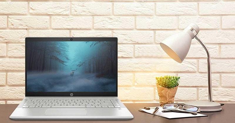 HP 14 ce2039TU thiết kế với những đường nét góc cạnh tinh tế, mềm mại