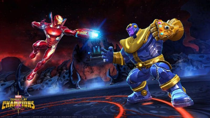 chơi game Marvel Contest of Champions