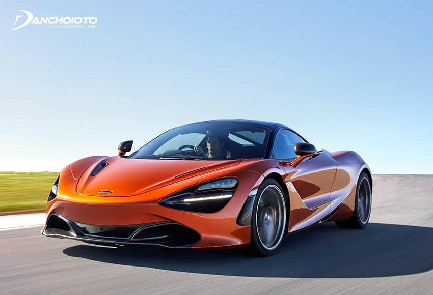 McLaren 720S trình làng tạo được sự chú ý lớn của cả thế giới