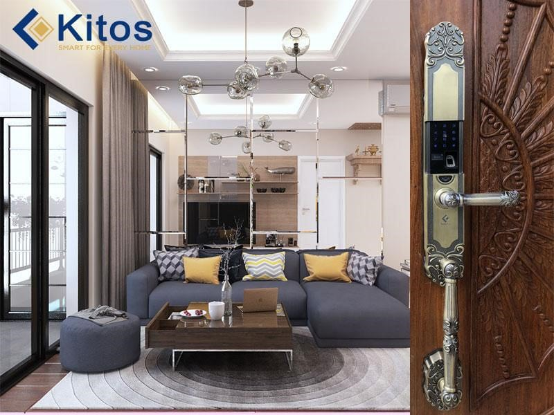 Công nghệ chế tạo của khóa cửa vân tay điện tử Kitos