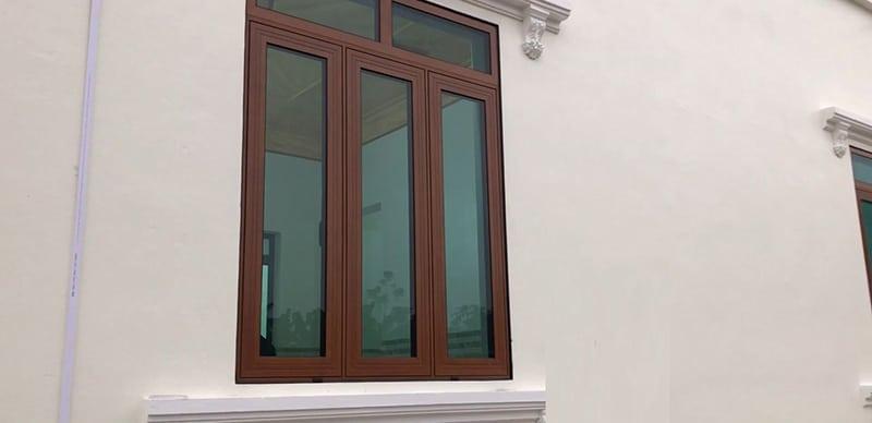 Một số chi tiết, lưu ý về bộ cửa nhôm Xingfa