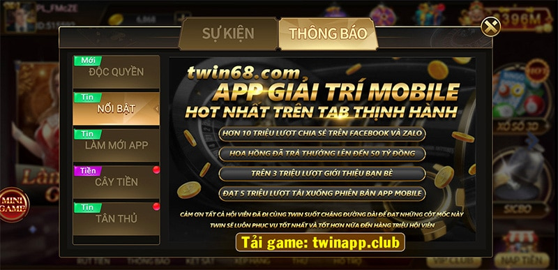 game twin68